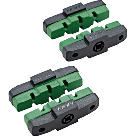 BBB HydroStop E-Bike BBS-09E Brake Shoes green